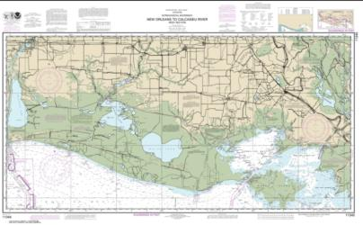 Intracoastal Waterway New Orleans to Calcasieu River West Section (11345-35) by NOAA