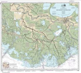 Intracoastal Waterway New Orleans to Calcasieu River East Section (11352-42) by NOAA