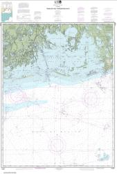 Timbalier and Terrebonne Bays (11357-43) by NOAA