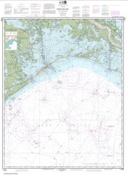 Barataria Bay and approaches (11358-58) by NOAA
