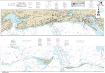 Intracoastal Waterway Dog Keys Pass to Waveland (11372-35) by NOAA