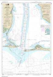 Mobile Bay Approaches and Lower Half (11377-10) by NOAA