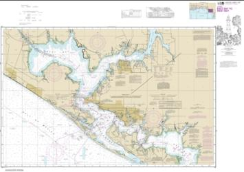 Intracoastal Waterway East Bay to West Bay (11390-25) by NOAA
