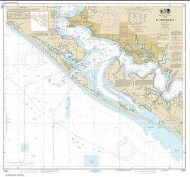 St. Andrew Bay (11391-25) by NOAA