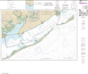 Intracoastal Waterway Carrabelle to Apalachicola Bay; Carrabelle River (11404-24) by NOAA