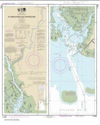 St. Marks River and approaches (11406-14) by NOAA