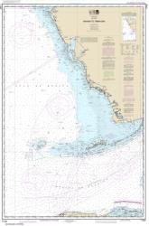 Havana to Tampa Bay Nautical Chart (11420) by NOAA