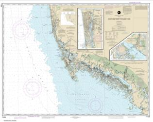 Chatham River to Clam Pass; Naples Bay; Everglades Harbor (11429-23) by NOAA