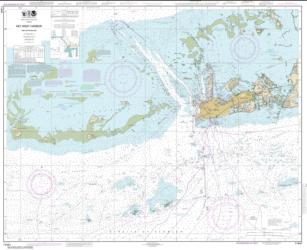 Key West Harbor and Approaches (11441-42) by NOAA