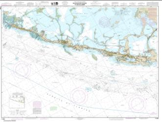 Intracoastal Waterway Blackwater Sound To Matecumbe (11464-18) by NOAA