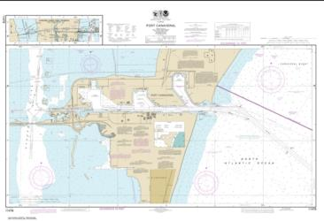 Port Canaveral; Canaveral Barge Canal Extension (11478-24) by NOAA