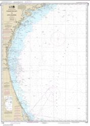 Charleston Light to Cape Canaveral (11480-41) by NOAA