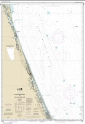 St. Augustine Light to Ponce de Leon Inlet (11486-16) by NOAA