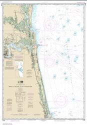Amelia Island to St. Augustine (11488-28) by NOAA