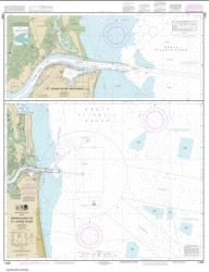 Approaches to St. Johns River; St. Johns River Entrance (11490-21) by NOAA