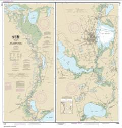 St. Johns River Lake Dexter to Lake Harney (11498-18) by NOAA