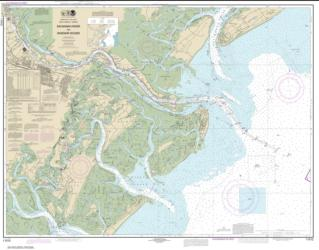 Savannah River and Wassaw Sound (11512-64) by NOAA
