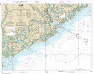 Charleston Harbor and Approaches (11521-30) by NOAA