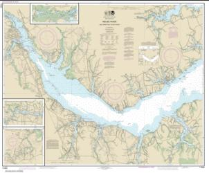 Neuse River and Upper Part of Bay River (11552-21) by NOAA
