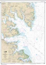 Chesapeake Bay Mobjack Bay and York River Entrance (12238-41) by NOAA