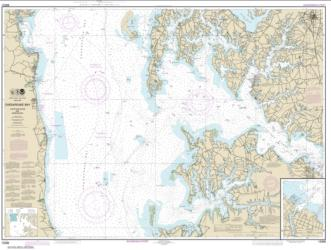 Chesapeake Bay Choptank River and Herring Bay; Cambridge (12266-31) by NOAA