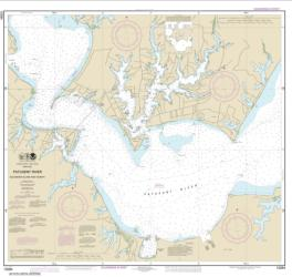 Patuxent River Solomons lsland and Vicinity (12284-17) by NOAA