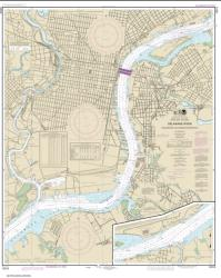 Philadelphia and Camden Waterfronts (12313-53) by NOAA