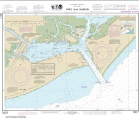 Cape May Harbor (12317-32) by NOAA