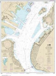 New York Harbor Upper Bay and Narrows-Anchorage Chart (12334-72) by NOAA