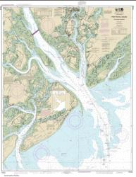 Port Royal Sound and Inland Passages (11516-32) by NOAA