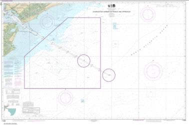 Charleston Harbor Entrance and Approach (11528-1) by NOAA