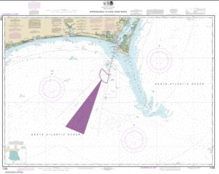 Approaches to Cape Fear River (11536-20) by NOAA