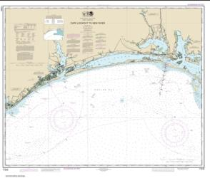 Cape Lookout to New River (11543-24) by NOAA