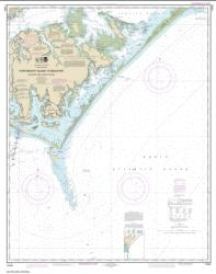 Portsmouth Island to Beaufort, Including Cape Lookout Shoals (11544-41) by NOAA