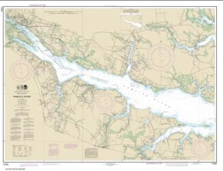 Pamlico River (11554-17) by NOAA