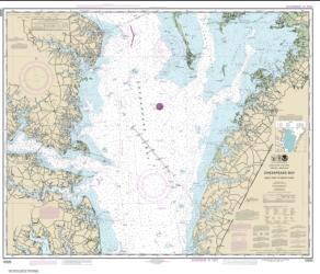Chesapeake Bay Wolf Trap to Smith Point (12225-60) by NOAA