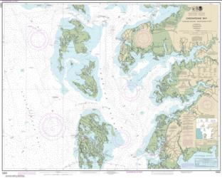 Chesapeake Bay Tangier Sound Northern Part (12231-30) by NOAA