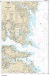 Chesapeake Bay Rappahannock River Entrance, Piankatank and Great Wicomico Rivers (12235-34) by NOAA