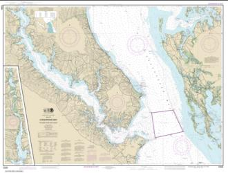 Chesapeake Bay Patuxent River and Vicinity (12264-32) by NOAA