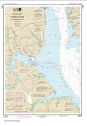 Potomac River Dahlgren and Vicinity (12287-19) by NOAA