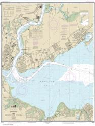 Raritan Bay and Southern Part of Arthur Kill (12331-33) by NOAA
