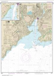 New Haven Harbor; New Haven Harbor (Inset) (12371-25) by NOAA