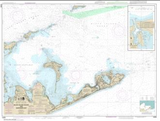 Block Island Sound and Gardiners Bay; Montauk Harbor (13209-27) by NOAA