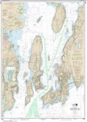 Narragansett Bay, Including Newport Harbor (13223-43) by NOAA