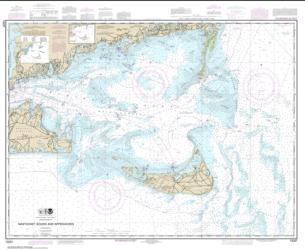 Nantucket Sound and Approaches (13237-42) by NOAA