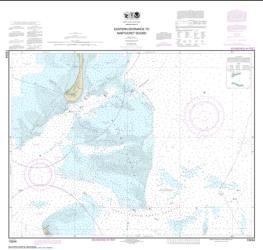 Eastern Entrance to Nantucket Sound (13244-42) by NOAA