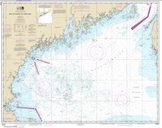 Bay of Fundy to Cape Cod (13260-41) by NOAA