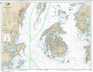Penobscot Bay; Carvers Harbor and Approaches (13305-29) by NOAA
