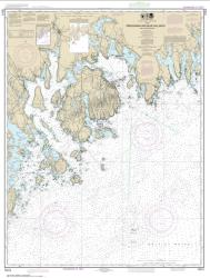 Frenchman and Blue Hill Bays and Approaches (13312-23) by NOAA