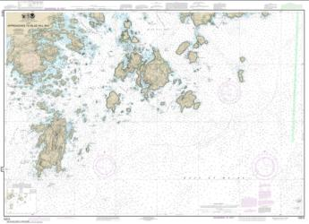 Approaches to Blue Hill Bay (13313-21) by NOAA
